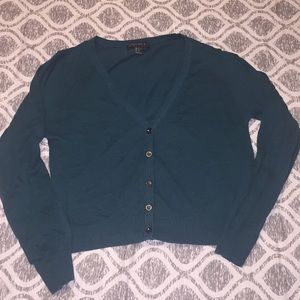 Forever 21 Teal Green Cardigan. Size 1x